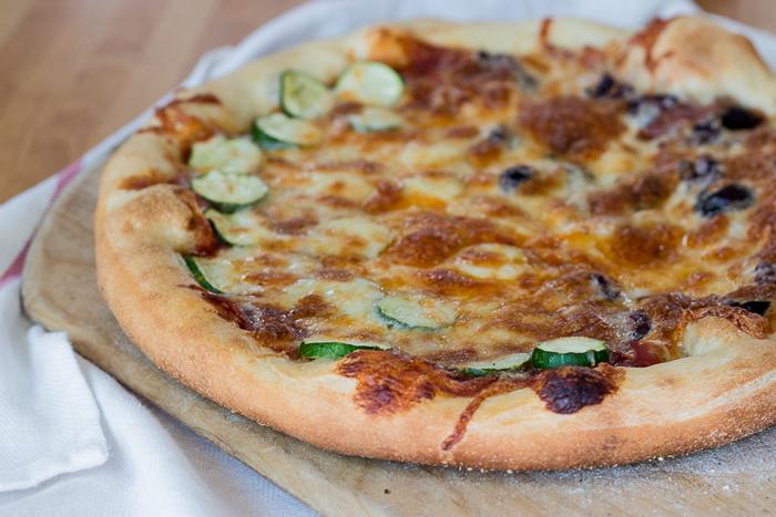 Homemade Pizza Dough   Flour Arrangements