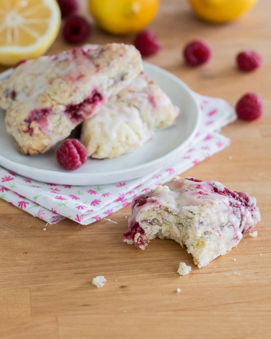Raspberry Lemon Scones | Flour Arrangements