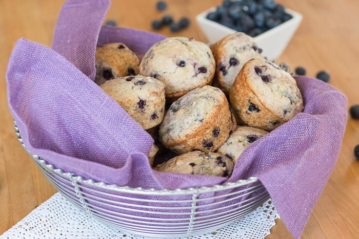 Easy Blueberry Muffins   Flour Arrangements