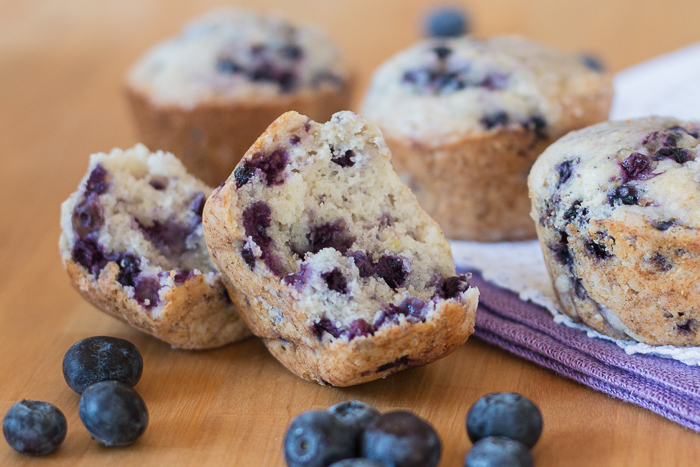 Easy Blueberry Muffins | Flour Arrangements