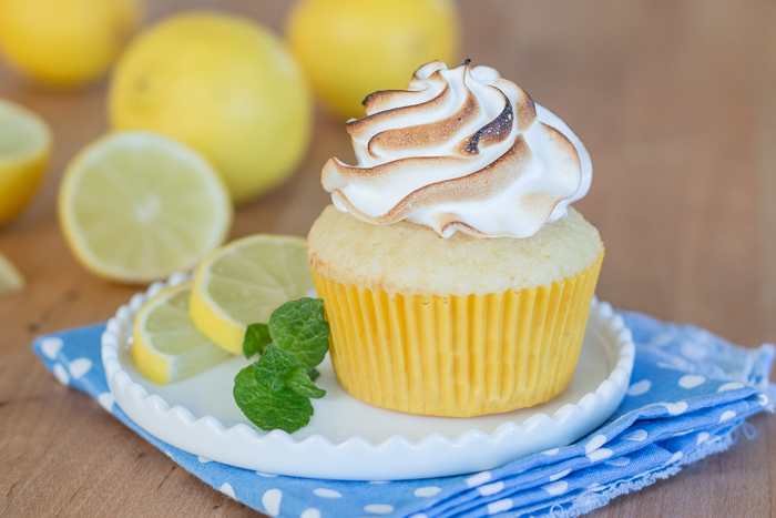 Lemon Meringue Cupcakes | Flour Arrangements
