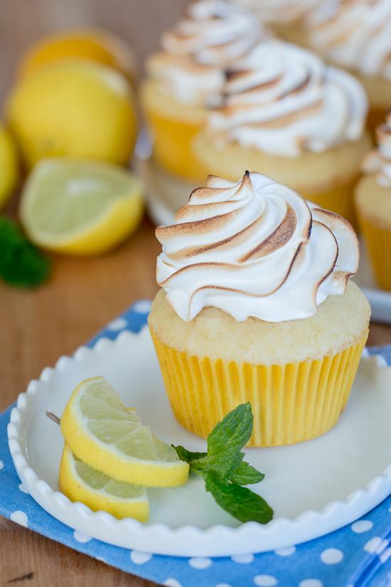 Lemon Meringue Cupcakes   Flour Arrangements