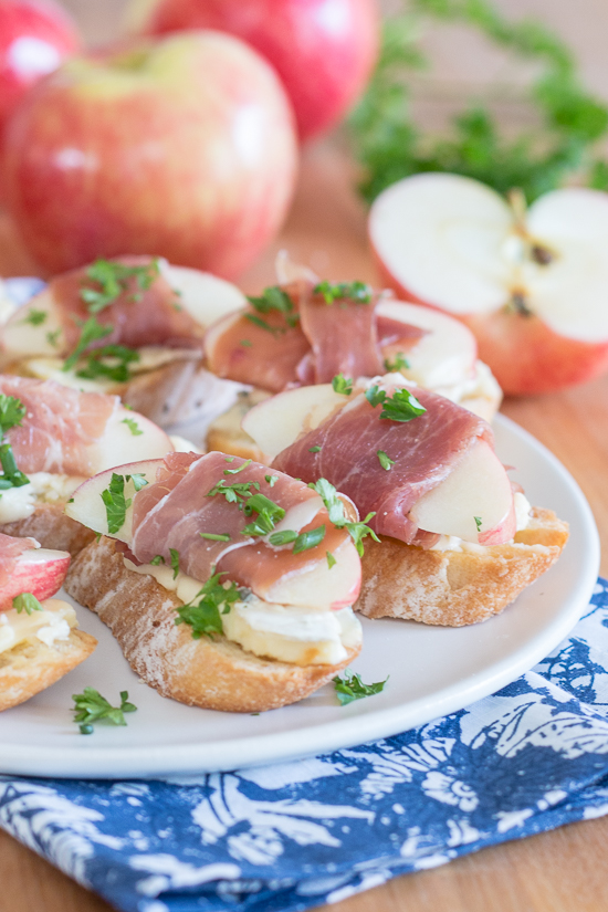 Apple & Cambozola Crostini | Flour Arrangements