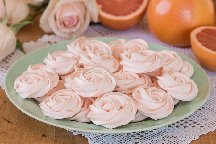 Grapefruit Meringues | Flour Arrangements