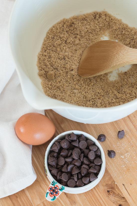 Chocolate Chip Cookie Brownies | Flour Arrangements