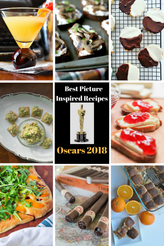 Best Picture Inspired Recipes | Oscars 2018