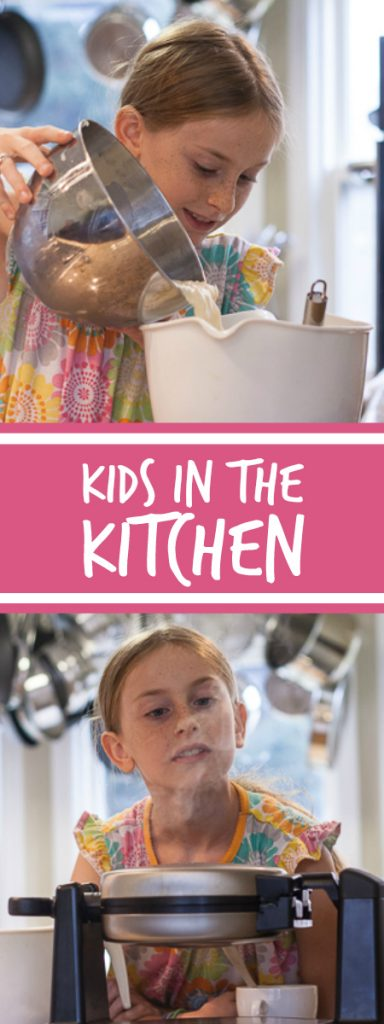 Welcoming your kids into your kitchen can give them real-life experience with important life skills. Find tips and tricks for helping your kids gain confidence and experience with cooking and baking.