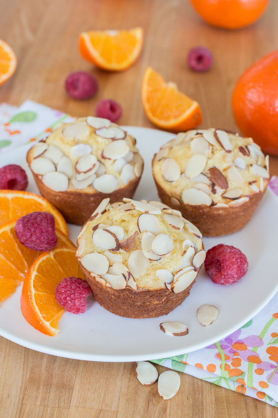 Add some sunshine to your day with these bright and flavorful Orange-Almond Muffins. With plenty of fresh orange zest and juice, as well as crunchy, nutty sliced almonds, this simple recipe comes together quickly and easily without skimping on taste.