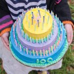 100th Day Play Cake | Flour Arrangements