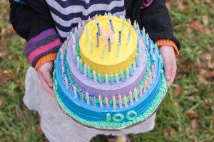 100th Day Play Cake | Flour Arrangements