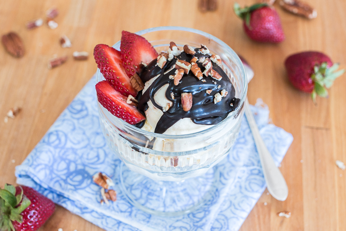 Thick and glossy, this Simple Hot Fudge Saucetransformsany bowl of ice cream into an extravagant hot fudge sundae. While it's quick and easy to prepare, this topping delivers smooth, rich chocolate indulgence.
