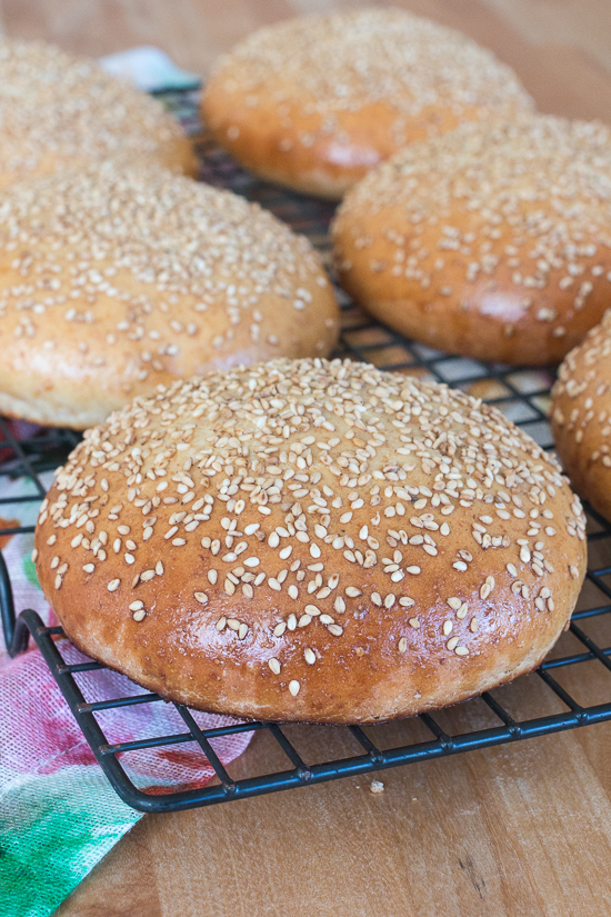 Tender and delicious, these Easy Hamburger Buns are the wrapping that juicy, home-grilled burgers deserve!