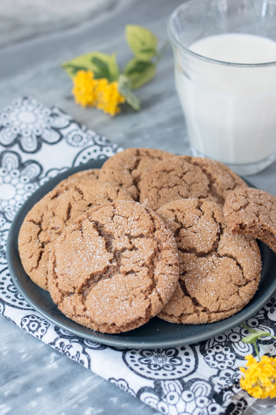 Chewy and deeply spiced, these Molasses Crinkles' sweet, warm flavors wake up your taste buds and make them take notice.