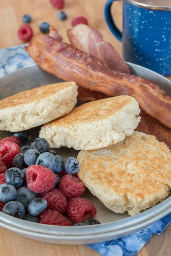Lightly crisped on the outside, tender and delicate on inside, these rich, buttery Stovetop Biscuits make an incredible addition to almost any meal.