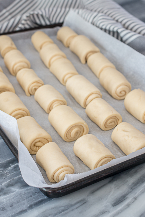 With butter mixed into the dough, butter spread over the dough during shaping, and butter slathered on top straight from the oven, these Buttery Spiral Rolls certainly earn their name. In addition to their richness, they're fluffy, tender, and so satisfying to unroll while eating.