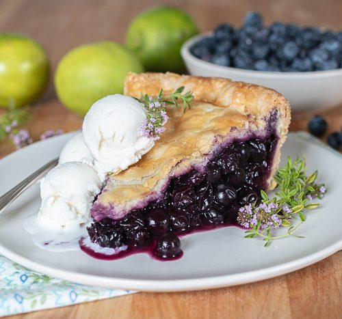 Blueberry Pie for Two – Tina's Chic Corner