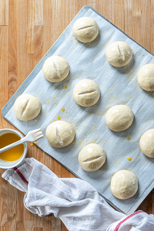 Simple yet satisfying, these hearty French Bread Rolls make a perfect accompaniment to any meal!